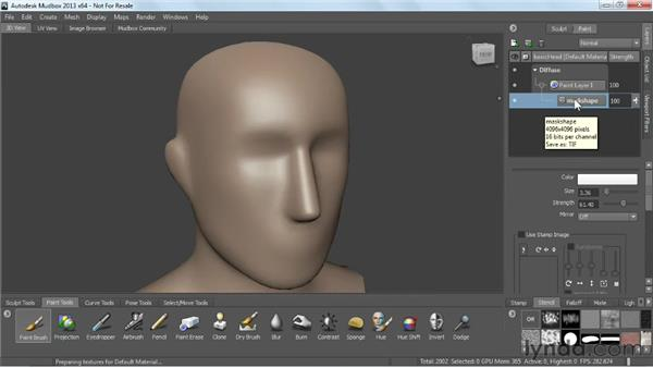 Making the most of texture channels: Mudbox 2013 Essential Training