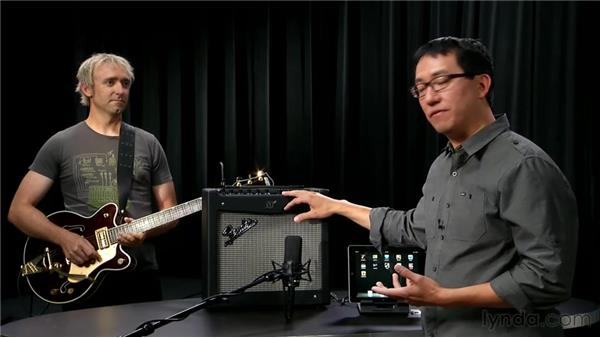 The Fender Mustang amp: iPad Music Production: Inputs, Mics, and MIDI