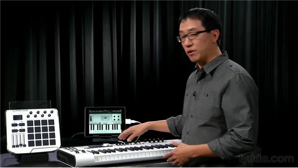Connecting MIDI keyboards: iPad Music Production: Inputs, Mics, and MIDI