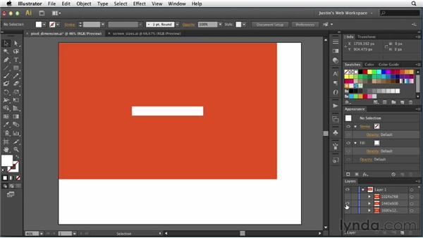 Decoding screen size and resolution: Illustrator for Web Design