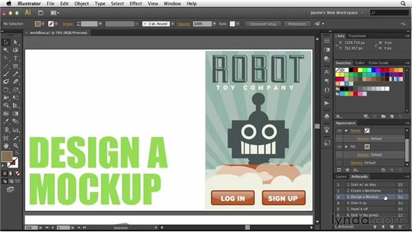 Exploring the Illustrator to HTML workflow: Illustrator for Web Design