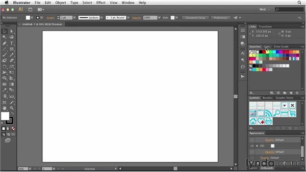 Setting up Illustrator for web work: Illustrator for Web Design
