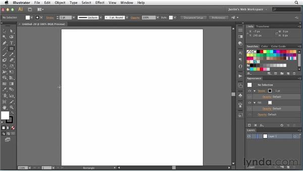 Creating email newsletter documents: Illustrator for Web Design