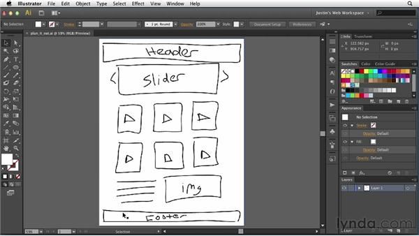 Planning your project: Illustrator for Web Design
