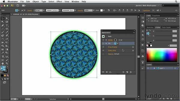 Understanding object appearance: Illustrator for Web Design
