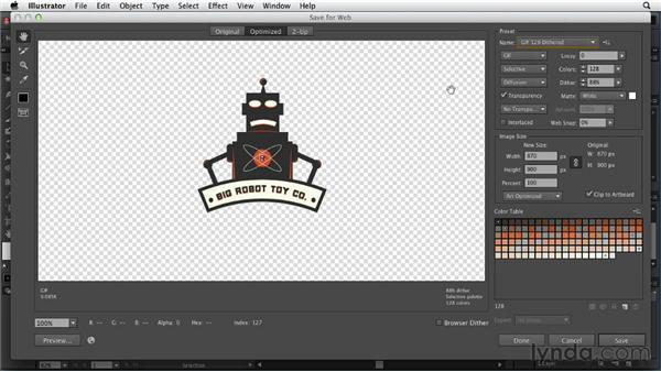 Understanding web file formats: Illustrator for Web Design