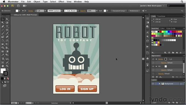 Saving Retina display graphics: Illustrator for Web Design