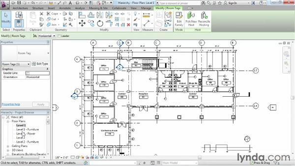 Understanding Revit element hierarchy: Revit Architecture 2013 Essential Training