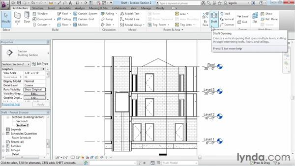 Adding openings: Revit Architecture 2013 Essential Training