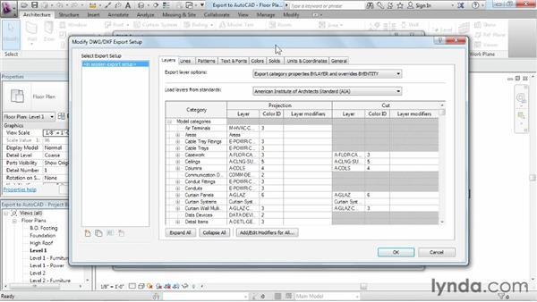 Exporting to AutoCAD: Revit Architecture 2013 Essential Training