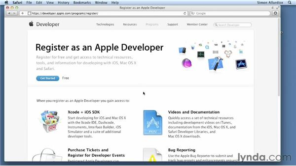 About the Apple Developer Programs: Cocoa Essential Training