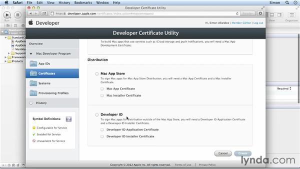 Using Apple's Developer ID: Cocoa Essential Training