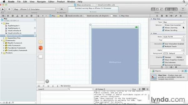 Displaying maps: iOS SDK: Building Apps with MapKit and Core Location