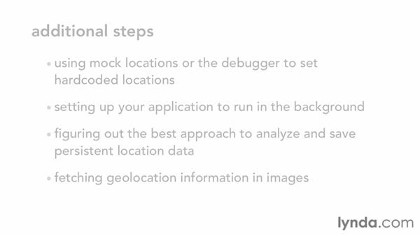 Goodbye: iOS SDK: Building Apps with MapKit and Core Location