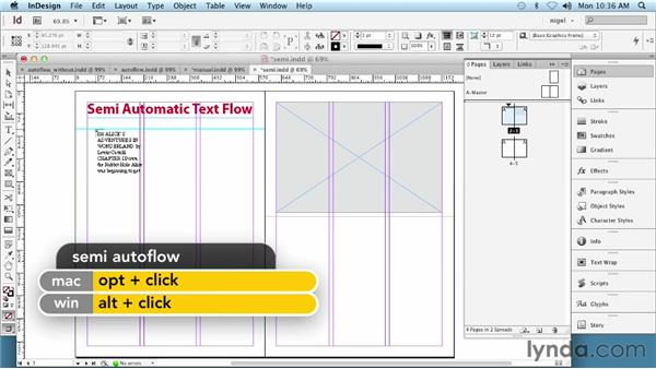 Understanding text flow methods: InDesign Typography (2012)