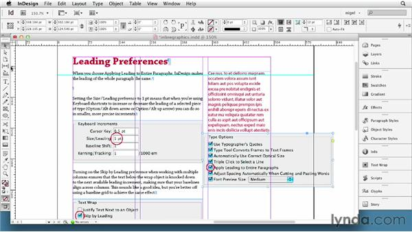 Using autoleading with inline graphics: InDesign Typography (2012)