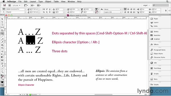 Using ellipses: InDesign Typography (2012)