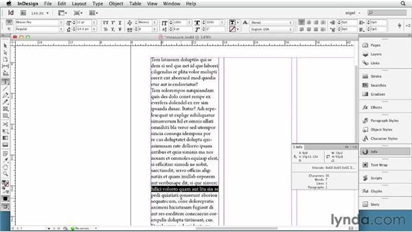 Determining column width: InDesign Typography (2012)