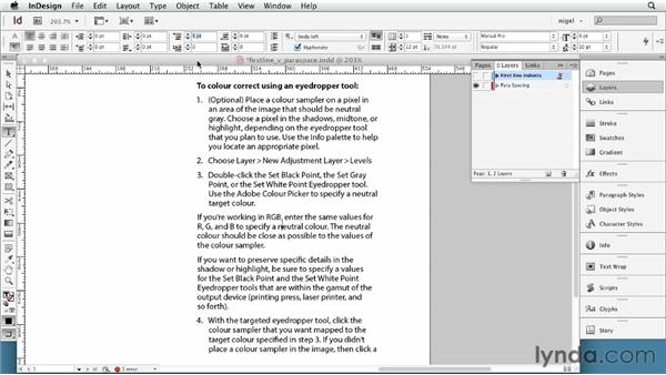 Using first-line indents: InDesign Typography (2012)