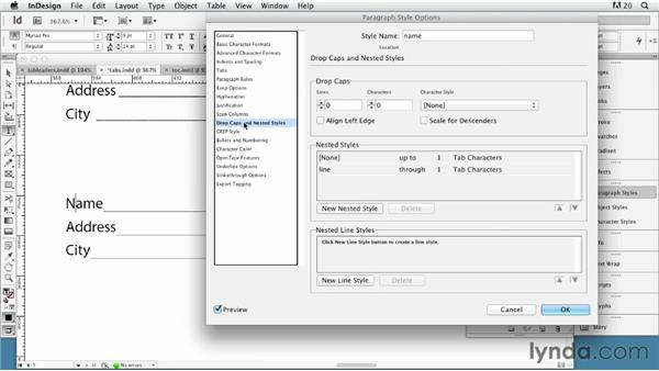 Understanding tabs: InDesign Typography (2012)