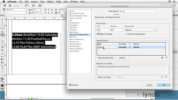 Using GREP styles (regular expressions): InDesign Typography (2012)