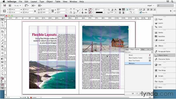 Using text wraps for flexible layouts: InDesign Typography (2012)