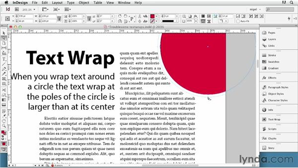 Working with difficult text wraps: InDesign Typography (2012)