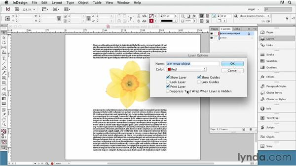 Inverting text wraps: InDesign Typography (2012)