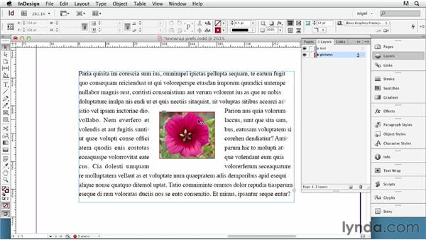 Setting text wrap preferences: InDesign Typography (2012)