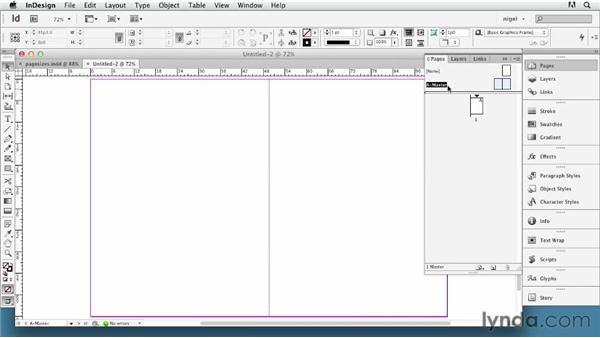 Choosing a page size and setting margins: InDesign Typography (2012)
