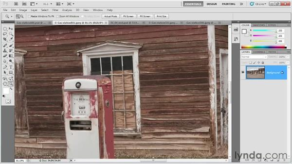 Analyzing concept art for key shadow details: Creating Game Environments in Maya and Photoshop