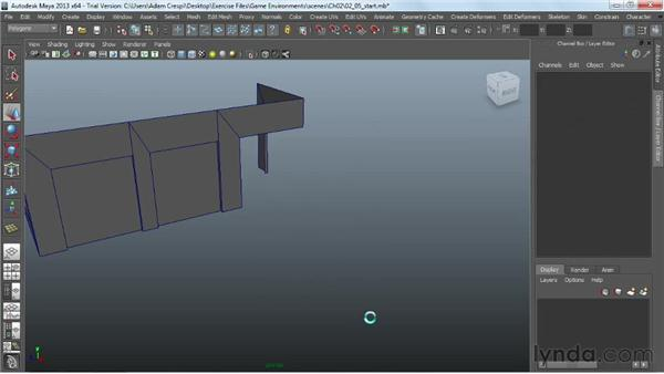 The iterative process: Assembly and teardown: Creating Game Environments in Maya and Photoshop