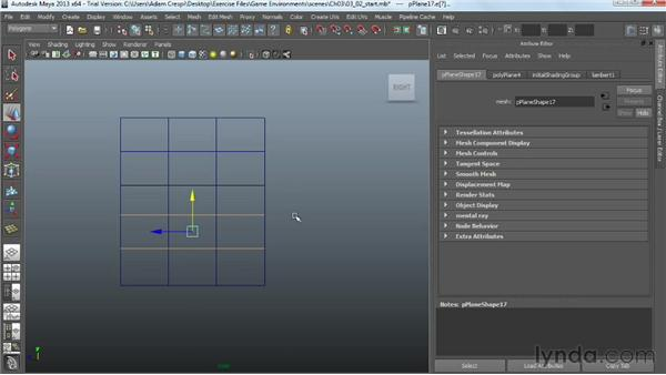 Modeling a high-poly roll-up garage door: Creating Game Environments in Maya and Photoshop