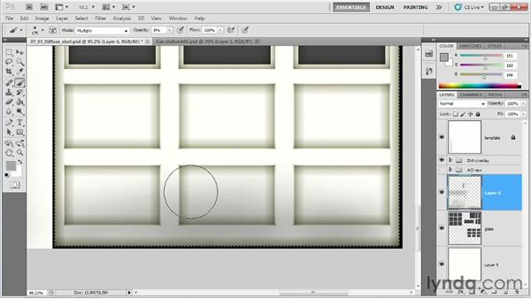 Using tiling and non-tiling textures: Creating Game Environments in Maya and Photoshop