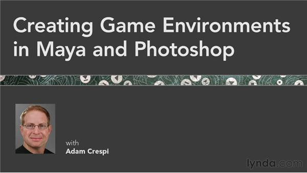 Next steps: Creating Game Environments in Maya and Photoshop