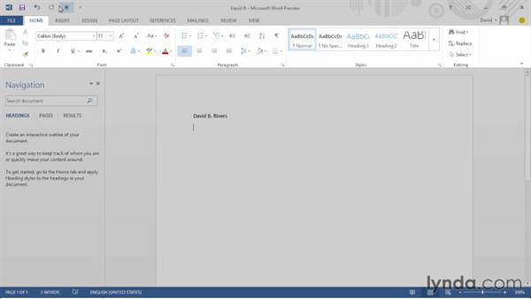 Welcome: Office 2013 First Look