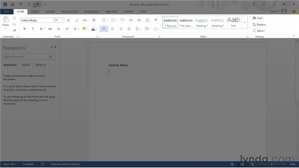 Exploring Touch mode: Office 2013 First Look