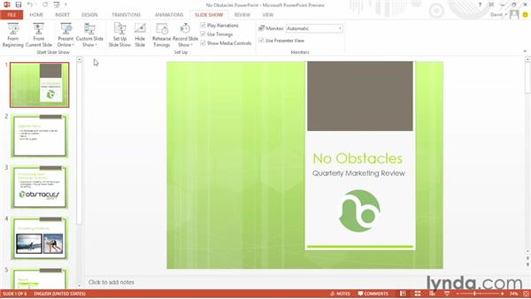 Exploring the new Presenter view: Office 2013 First Look