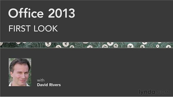 Goodbye: Office 2013 First Look
