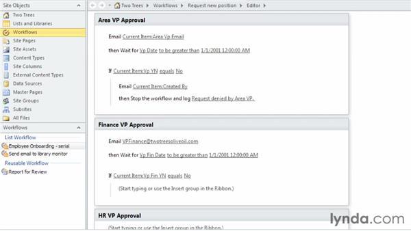Understanding workflow steps: SharePoint Designer 2010: Building Custom Workflows