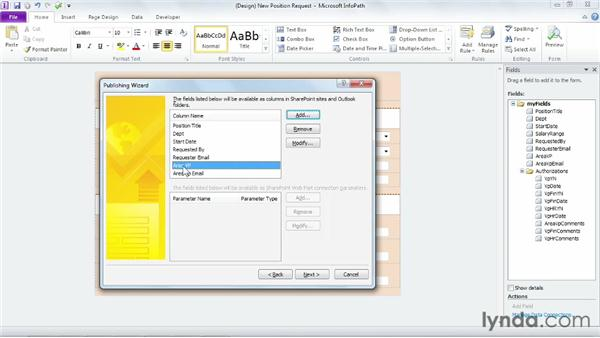 Creating a form library from InfoPath: SharePoint Designer 2010: Building Custom Workflows