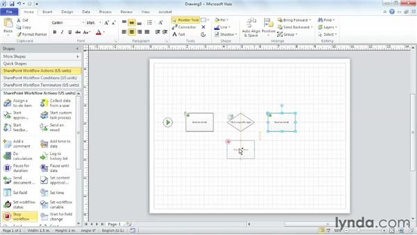 Using the SharePoint workflow template to design a workflow: SharePoint Designer 2010: Building Custom Workflows