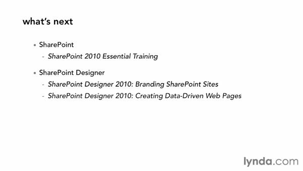 What's next?: SharePoint Designer 2010: Building Custom Workflows