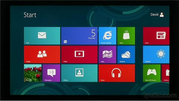 Using gestures and touch: Windows 8 Release Preview First Look