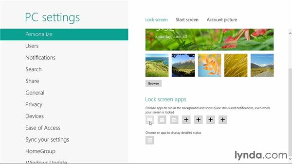 Personalizing Windows 8: Windows 8 Release Preview First Look