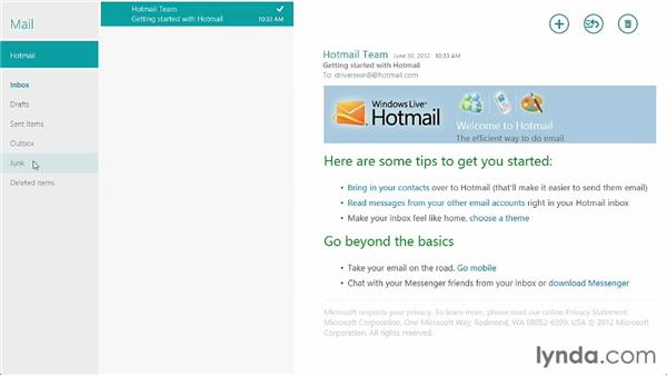 Communicating with Mail: Windows 8 Release Preview First Look