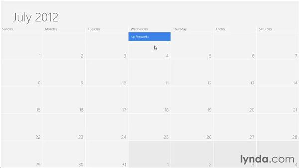 Maintaining your schedule with Calendar: Windows 8 Release Preview First Look