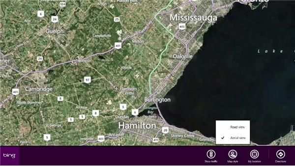Finding directions with Maps: Windows 8 Release Preview First Look