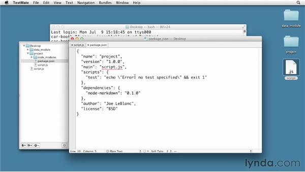 Understanding modules: Node.js First Look