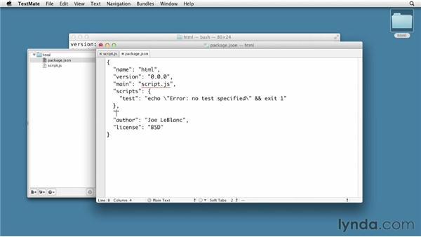 Using modules: Node.js First Look